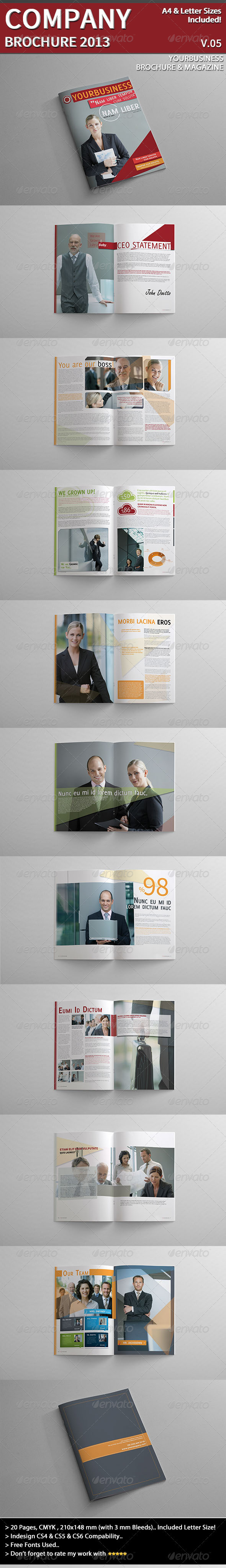GraphicRiver Company Brochure 2013 Part 05 3972884