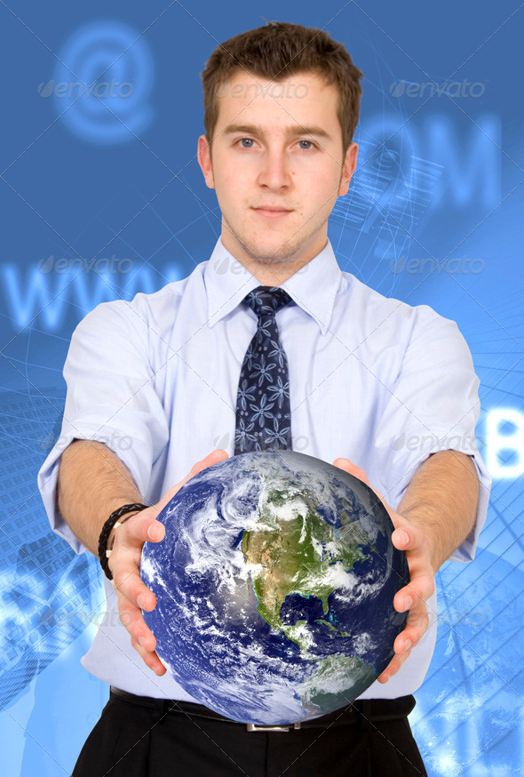 business worldwide communications - Stock Photo - Images