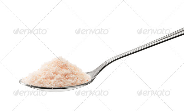himalayan salt - Stock Photo - Images