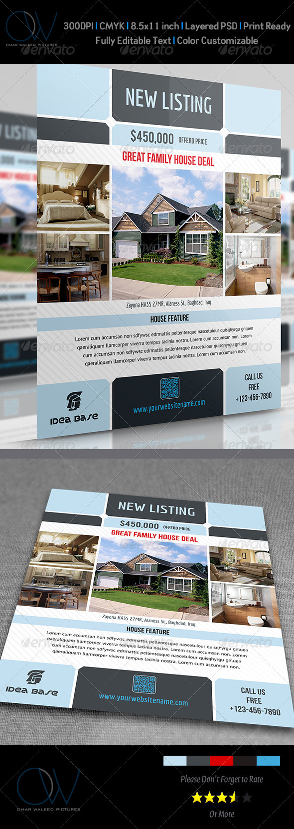 GraphicRiver Real Estate Flyer Vol.3 3973400