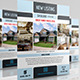 Real Estate Flyer Vol.3 - GraphicRiver Item for Sale