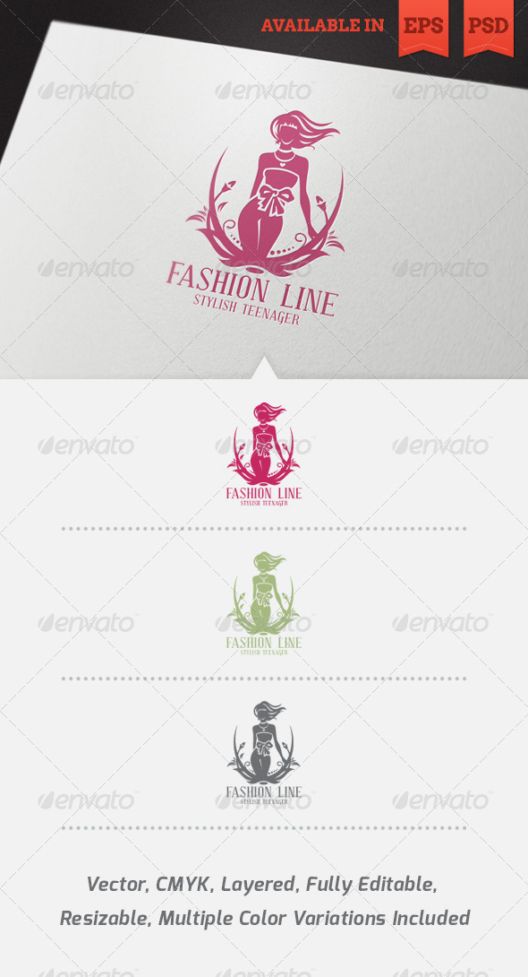 GraphicRiver Fashion Logo Template 3840054
