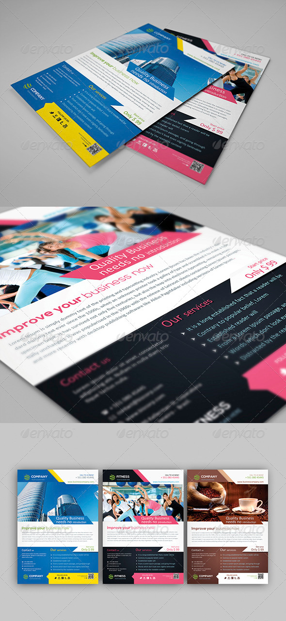 GraphicRiver Smart Corporate Flyer 3886267