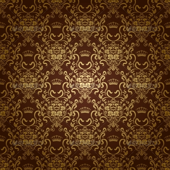 GraphicRiver Damask Seamless Floral Pattern 3975152