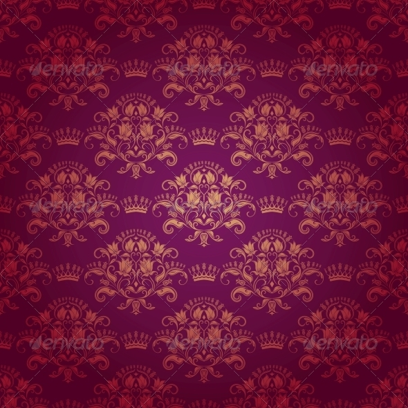 GraphicRiver Damask Seamless Floral Pattern 3975160