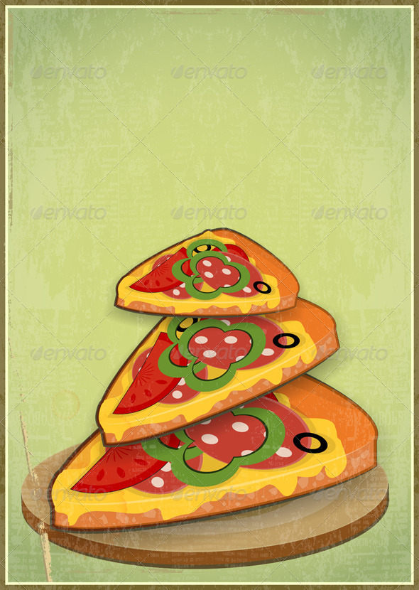 GraphicRiver Pizza Slices 3975164