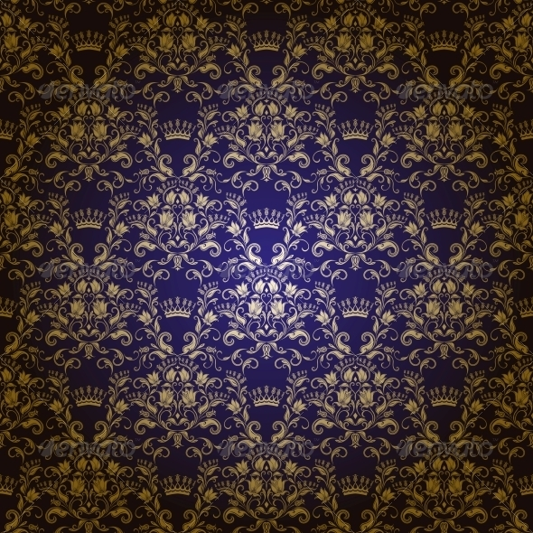 GraphicRiver Damask Seamless Floral Pattern 3975167