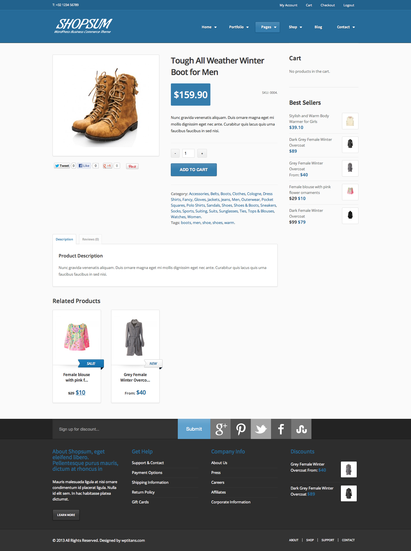 Shopsum - Responsive Commerce Business Solution