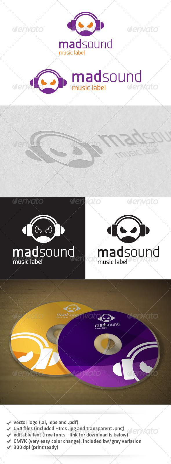 GraphicRiver Mad Sound Logo 3730811