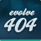 Evolve 404 - Error Pages - ThemeForest Item for Sale