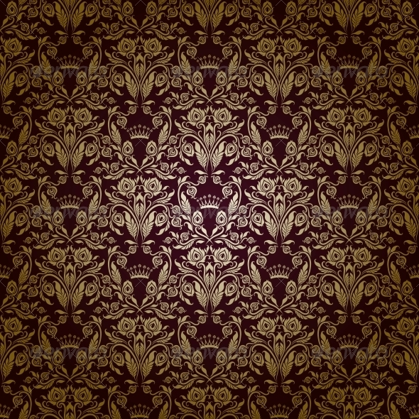 GraphicRiver Damask Seamless Floral Pattern 3975923