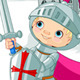 Knight Fighting A Dragon - GraphicRiver Item for Sale