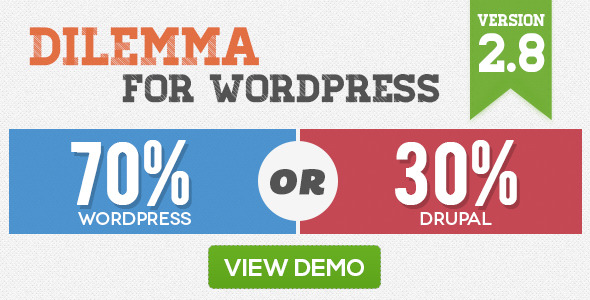 Dilemma WordPress Plugin - CodeCanyon Item for Sale