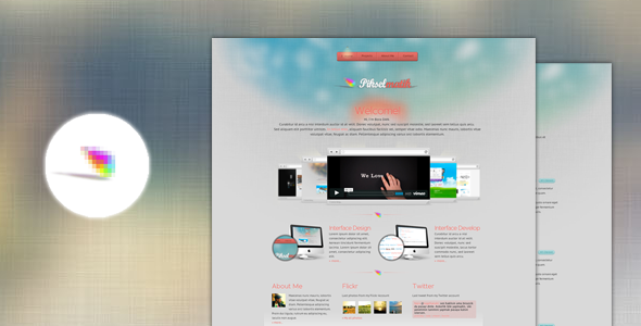 ThemeForest Pixelmatic 3978354