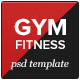 GYM - Fitness PSD Template - ThemeForest Item for Sale