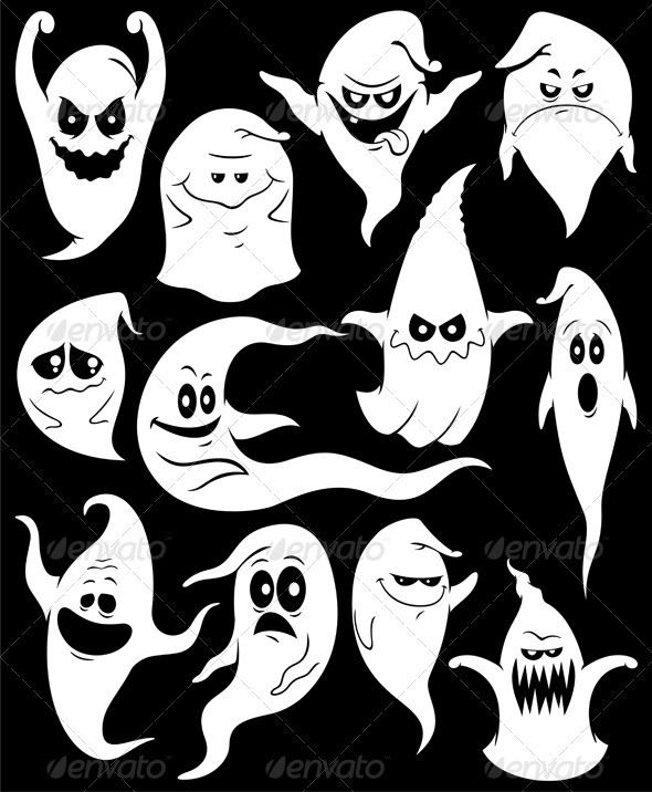 GraphicRiver Ghosts 3979607