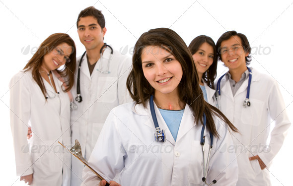 Stock Photo - PhotoDune group of doctors 430112