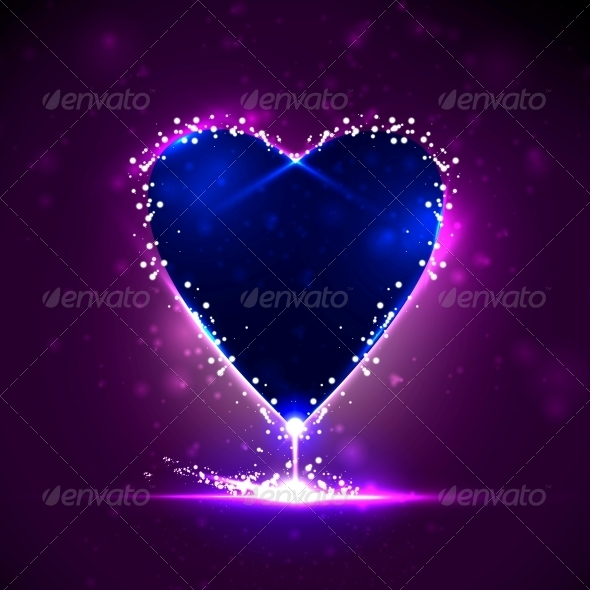 GraphicRiver Futuristic heart 3979990