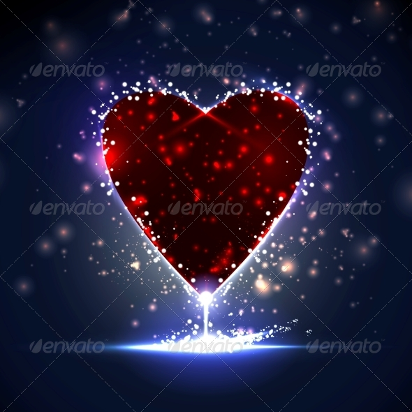 GraphicRiver Futuristic heart 3980086