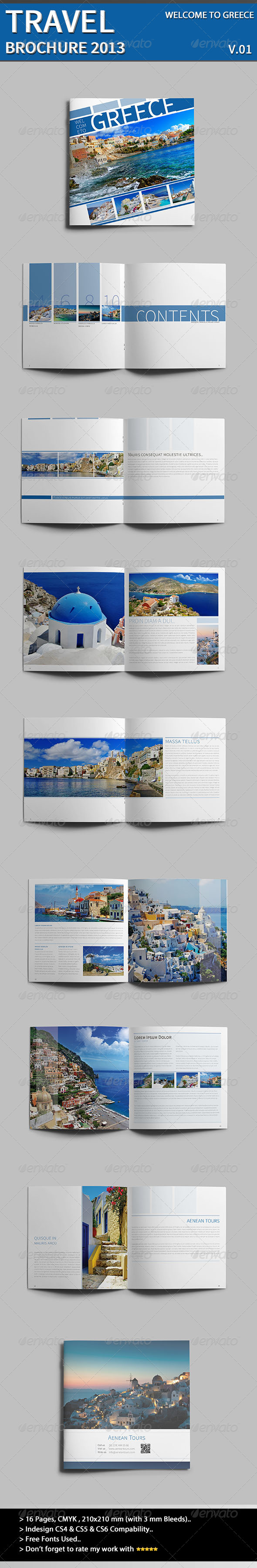 GraphicRiver Welcome To Greece 3986145