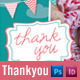 Baby Thankyou Postcards for Boys and Girls - GraphicRiver Item for Sale