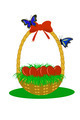 Basket With Eggs - PhotoDune Item for Sale