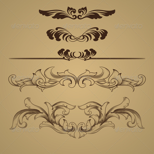 GraphicRiver Ornament Skect 3987659