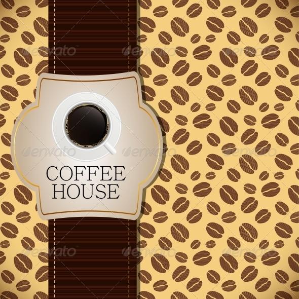 GraphicRiver Coffee house menu template vector illustration 3988142