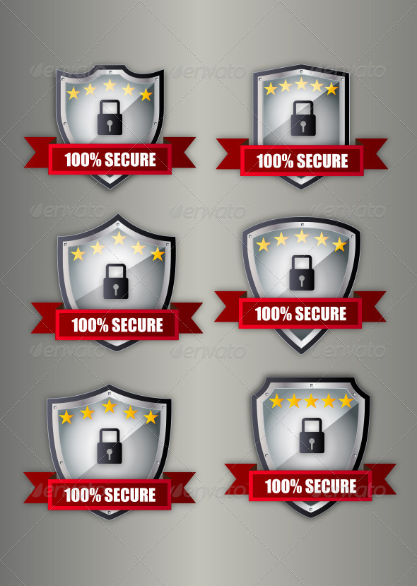 GraphicRiver Secure Shield 3988149