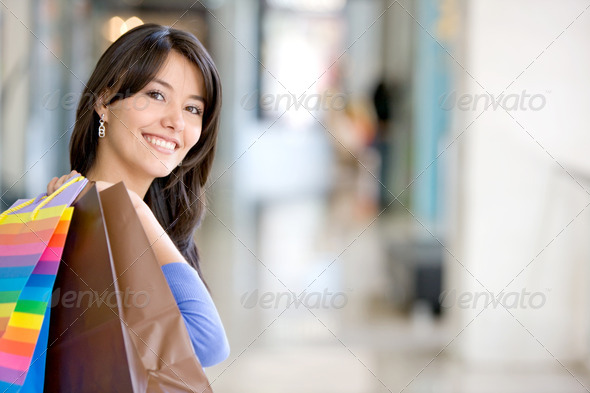 Shopping woman - Stock Photo - Images