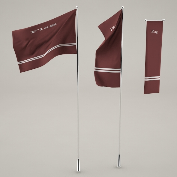 Flags - 3DOcean Item for Sale