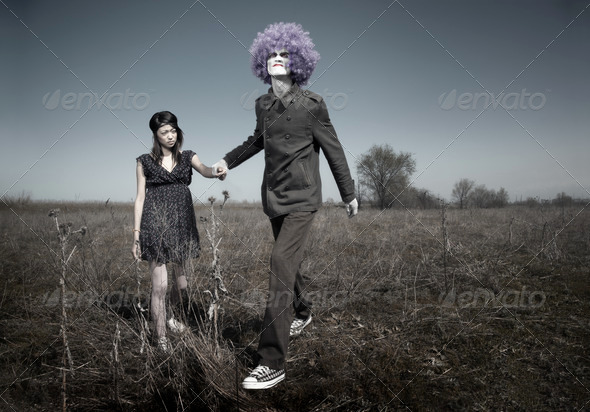 Bizarre love - Stock Photo - Images