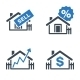 Real Estate Icons - Blue Series - GraphicRiver Item for Sale