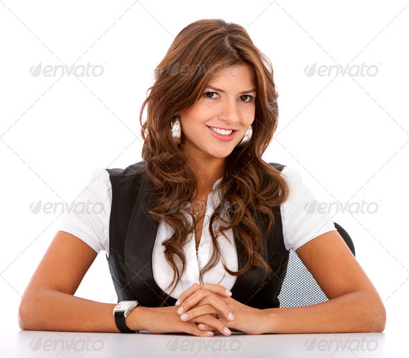 business womanl portrait - Stock Photo - Images