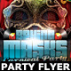 Behind Masks Carnival Party Flyer Template - GraphicRiver Item for Sale