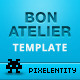 Bon Atelier - Responsive One Page HTML5 Template - ThemeForest Item for Sale