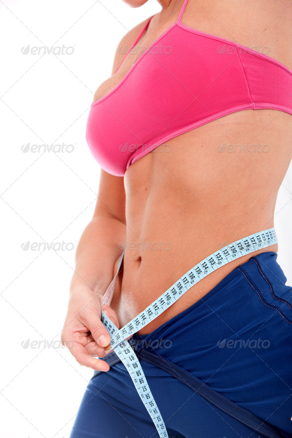 PhotoDune girl weight loss 431522