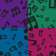 Musical Notes Seamless Pattern Set - GraphicRiver Item for Sale