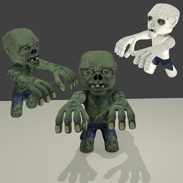 3DOcean Little Zombie 3993719