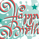 &amp;#x27;Happy Birthday&amp;#x27; Hand Lettering (vector) - GraphicRiver Item for Sale