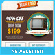 Retro Newsletters for E-commerce Businesses - GraphicRiver Item for Sale
