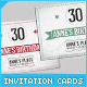 Retro Birthday Invitation Cards - GraphicRiver Item for Sale