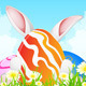 Easter Greeting Card - GraphicRiver Item for Sale