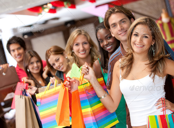 PhotoDune Shopping people 431945