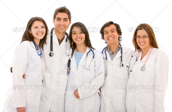 group of doctors - Stock Photo - Images