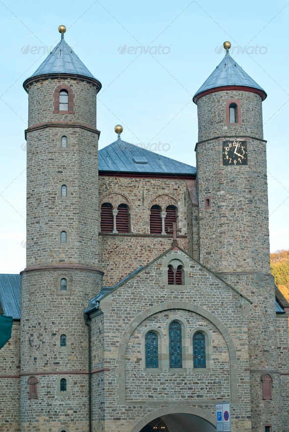 Church in Bad Muenstereifel - Stock Photo - Images