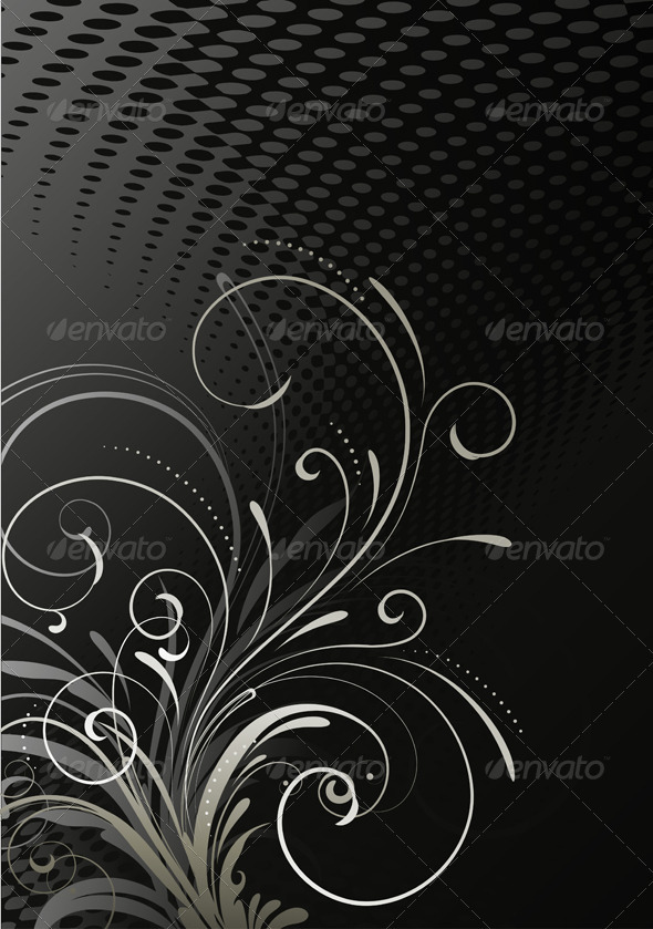 GraphicRiver Floral Background 4000623