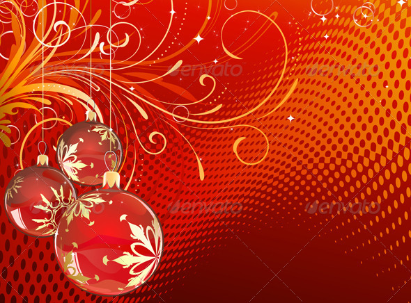 GraphicRiver Christmas Decorations 4000632