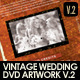 Vintage Wedding DVD Covers & Disc Label V.2  - GraphicRiver Item for Sale