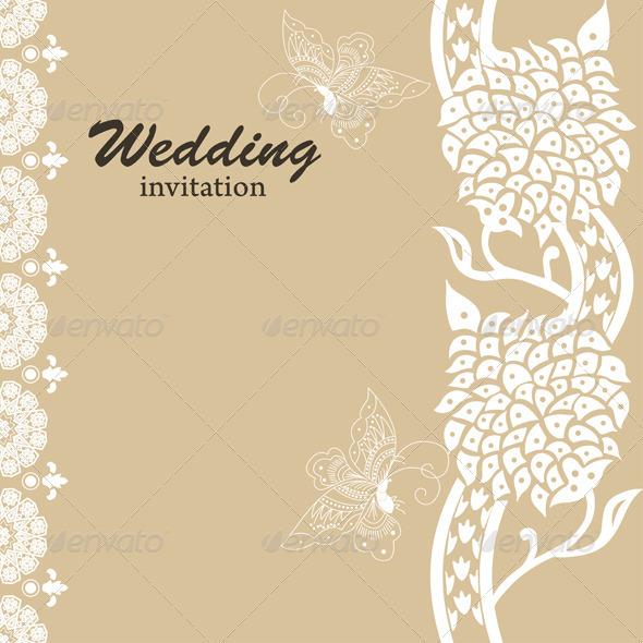 GraphicRiver Wedding Card Invitation 4001057
